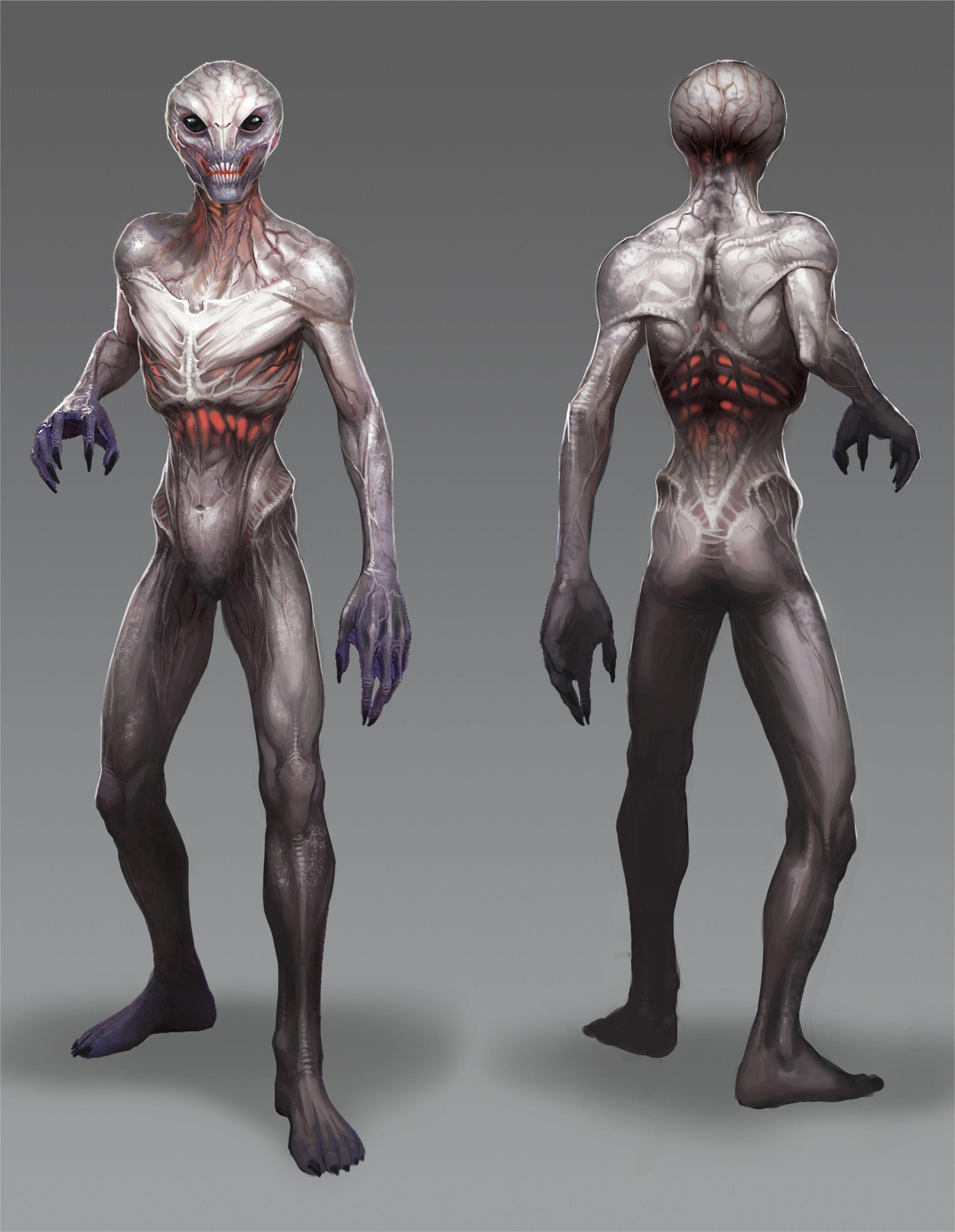 The Concept Art Of Xcom 2 Alien Concept Art Concept Art