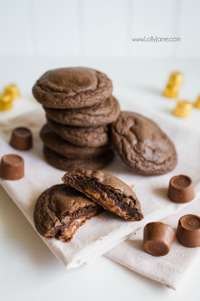 Rolo Cookies Recipe Easy recipes, Recipe and We