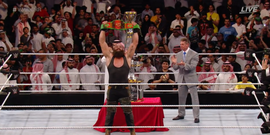 Braun Strowman Is The Winner Of The Greatest Royal Rumble Wrestling News Royal Rumble Wwe Royal Rumble Braun Strowman