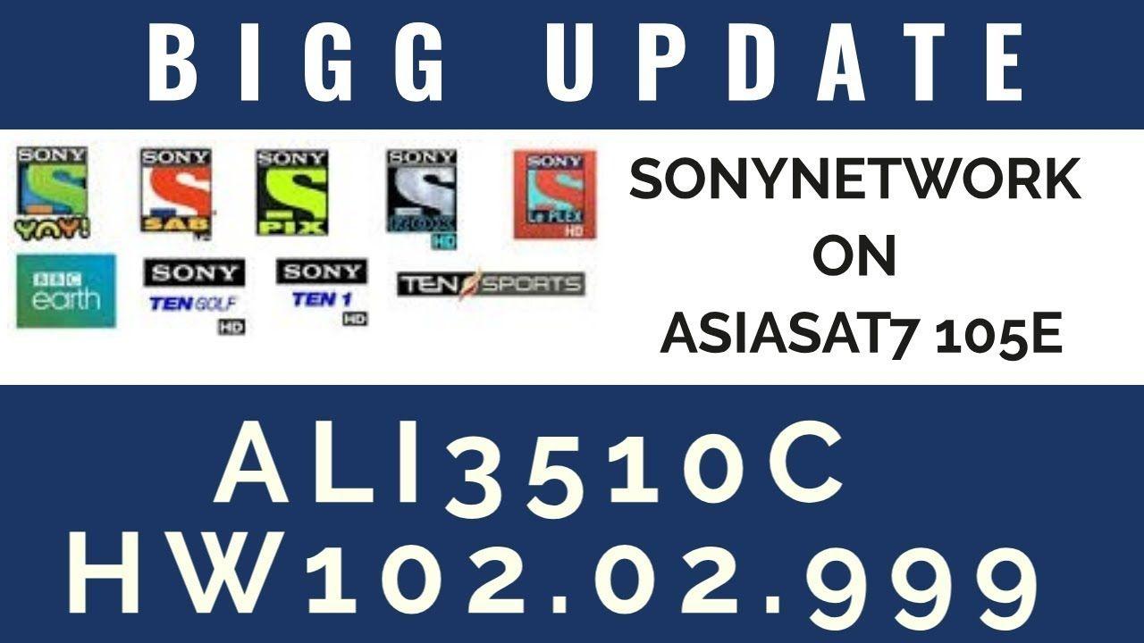 Ali3510c sony network Ten sports powervu software   INFO