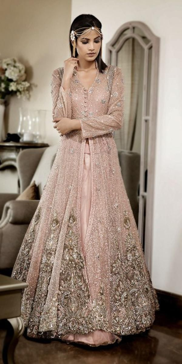 Indian Wedding Dresses: 21 Exciting Fusion Ideas -   11 gawn dress Indian ideas