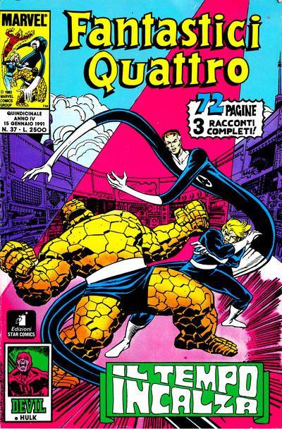 Cover for Fantastici Quattro (Edizioni Star Comics, 1988 series) #37