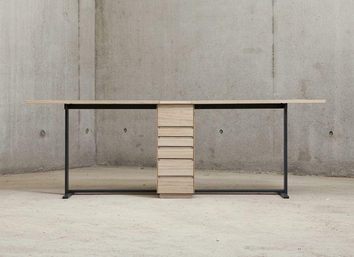 Double Bureau Le Suisse Par Giulio Parini Blog Esprit Design Mobilier Design Decoration Bureau Mobilier