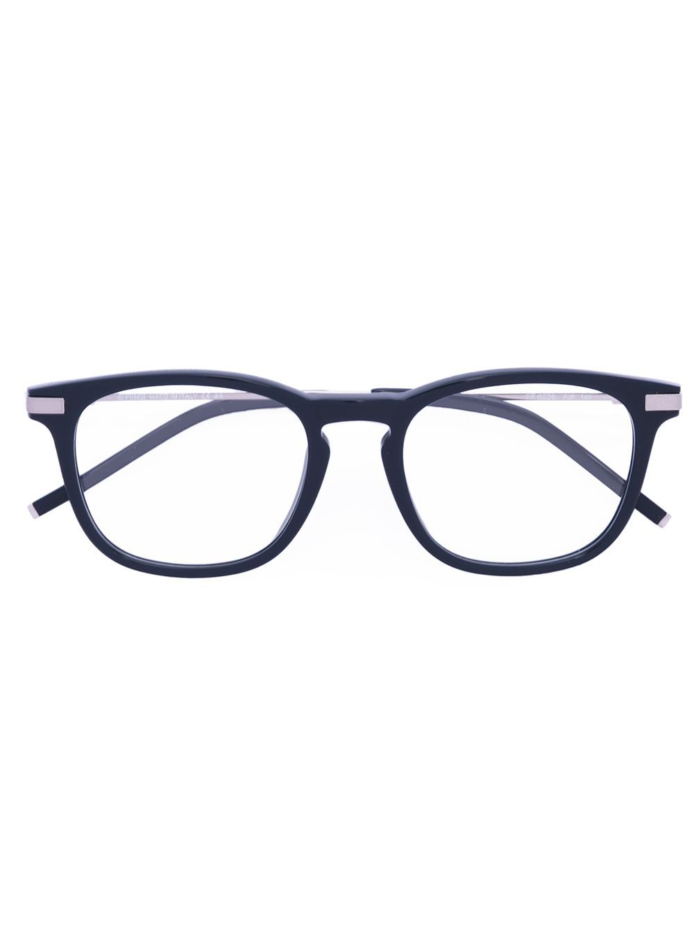 The collection from Fendi features playfully striking detailing - elaborating the elegantly decadent spirit of the brand. These blue acetate and metal Urban glasses are a classic piece from the collection and feature a logo at the temple and straight arms with curved tips. This item is unisex. This item comes with a protective case. These glasses can be adapted to fit all types of prescription lenses.