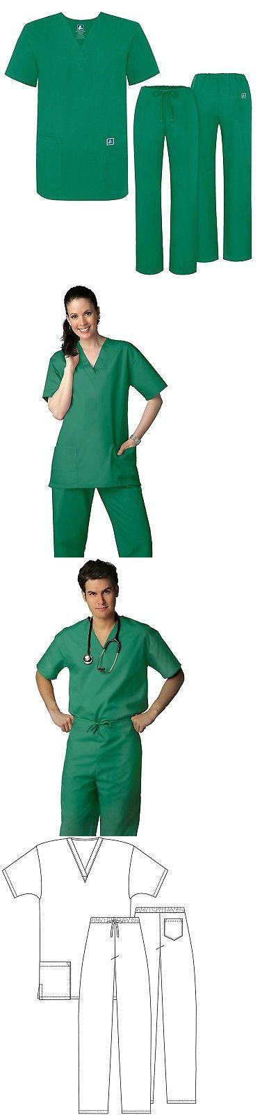 9ea264664b4 Sets 105432: Adar Universal Medical Scrubs Set Medical Uniforms - Unisex Fit  (45 Colors) -> BUY IT NOW ONLY: $13.19 on #eBay #universal #medical #scrubs  ...