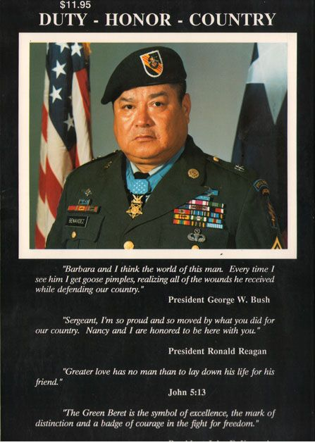 SONIA: Roy p benavidez medal of honor
