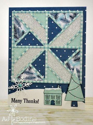 Gina Marie Designs - 4x4 Stitched Quilt Die #1 | 4x4, Quilt design ... : quilt dies - Adamdwight.com