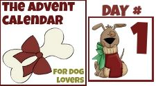 Welcome To The Advent Calendar For Dog Lovers - mybrownnewfies.com