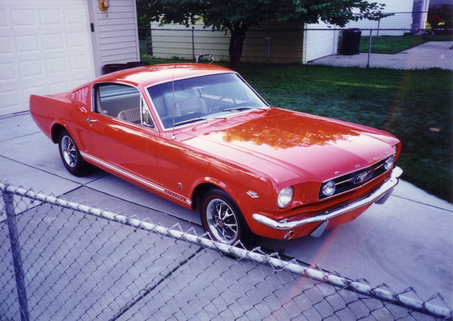 289 Hipo K Code 1966 Ford Mustang Mustang Ford Mustang