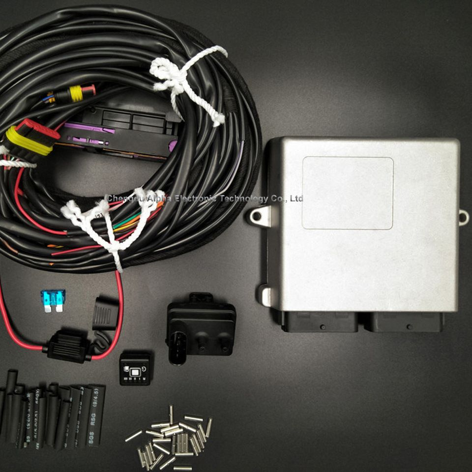 Alpha Lpg Cng 2568d Ecu Conversion Kits For Automobile Dual Fuel Pump Wiring Kit System