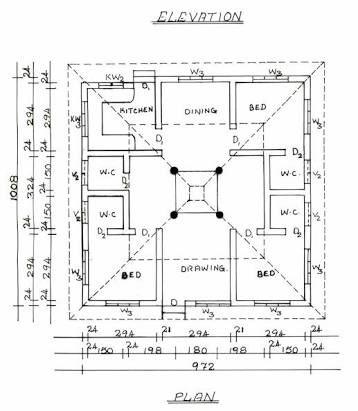 traditional chettinad home plans - Penelusuran Google ... on