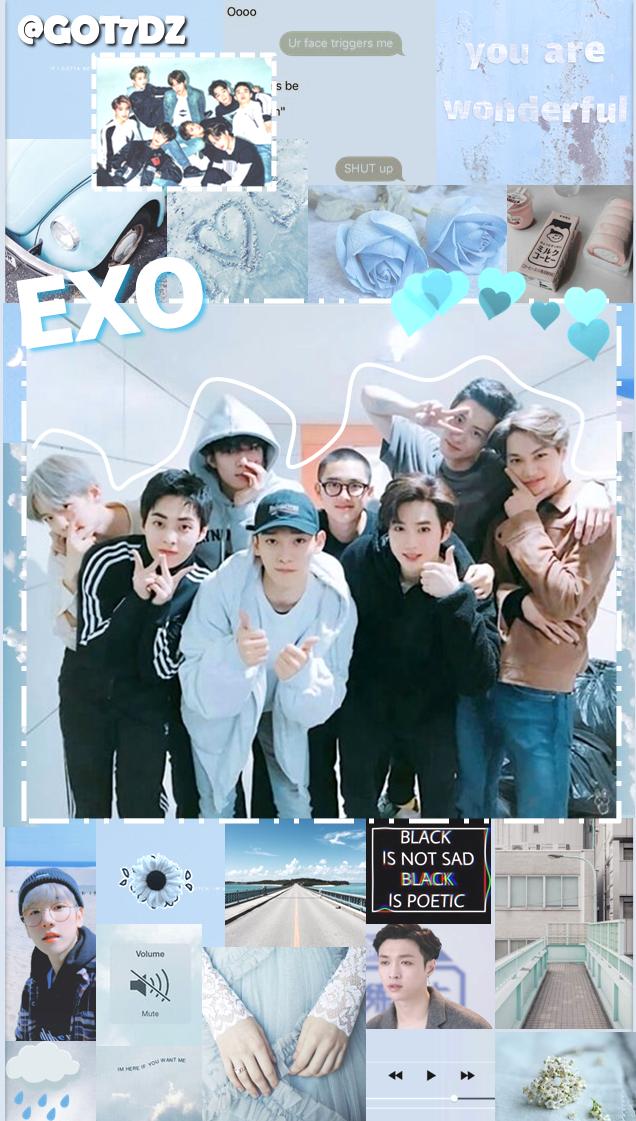 Exo Aesthetic Wallpaper