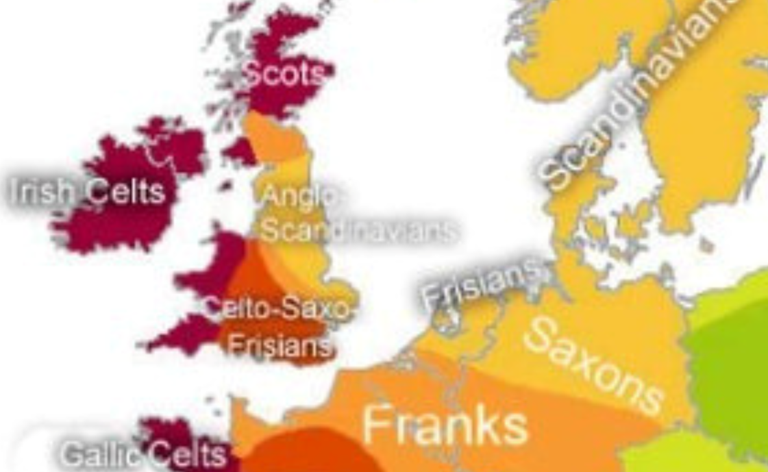 Anglo Scandinavians Celto Saxo Frisians The English Germanic Tribes Mainly U106 Going To Britain As Saxons And Frisian Germanic Tribes Anglo Saxon Saxon