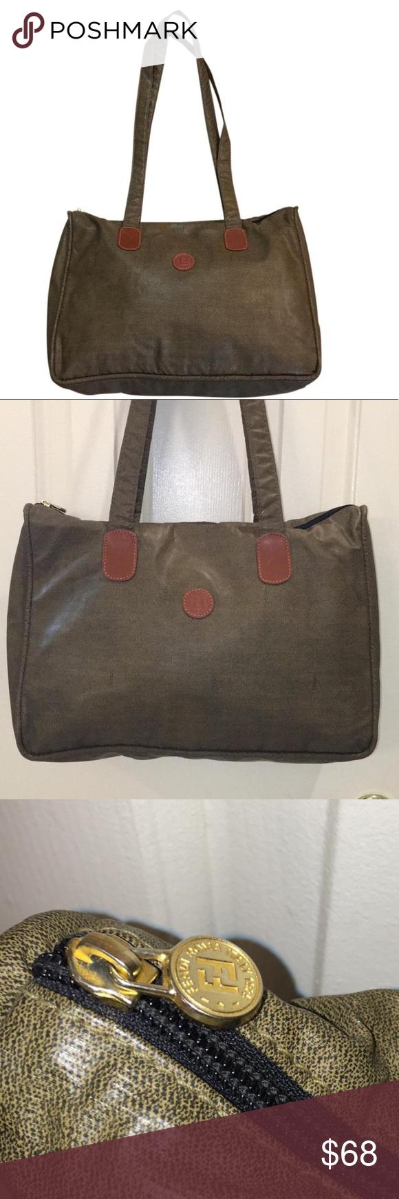 inexpensive vintage fendi tote bag d0d32 721f8 40540e6e87