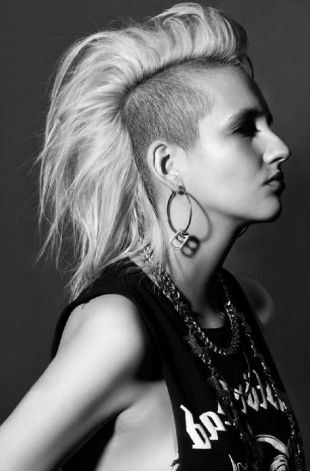 Punk hairstyles are not only for punk bands simple hairstyle ideas