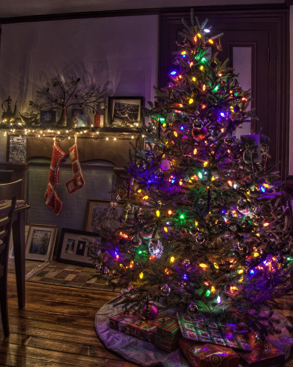 Christmas Gifts Purple Christmas Tree Christmas Tree Gif Pretty Christmas Trees