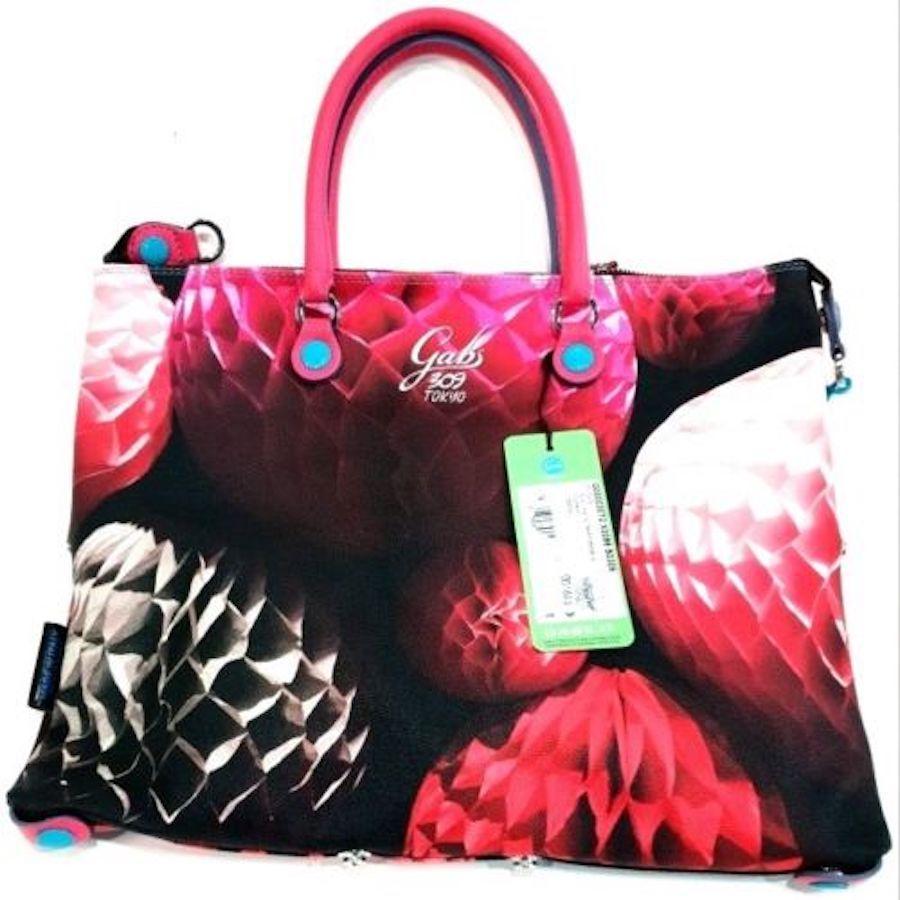 b4910115a15cb1 Borsa Gabs Shopping Piatta 309 TokyoTrasformabile Vera Pelle Lavorata Tg M -