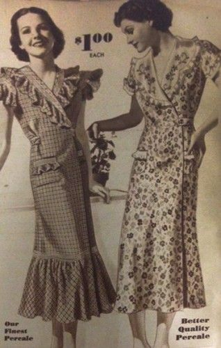 A thirties housewife spent the majority of her time in 1930s house dresses.  They were usually handmade with re-purposed or left over scraps from other  ... bd52bc3cf