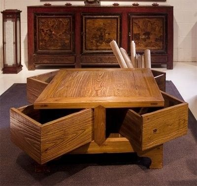 Several neat coffee tables with storage home decor Pinterest