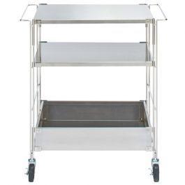 Sus Stainless Shelving Unit Wagon Set W64 5xl41xh70 5cm Shelving Unit Bed Furniture Furniture