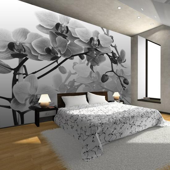 Fototapeta Z Czarno Biala Orchidea Interior Design Bedroom Small Home Decor Interior Design Bedroom