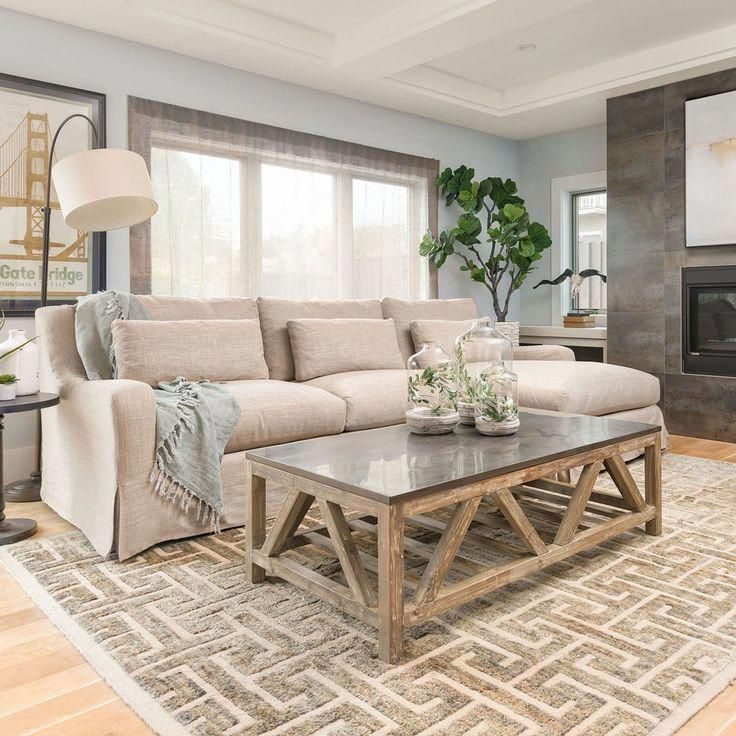 old fir coffee table with bluestone top livingroomdecor