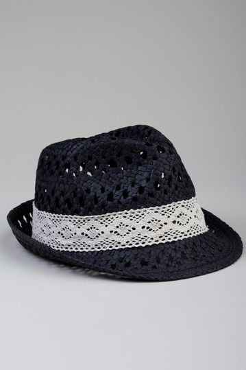Crochet Fedora - great way to top off summer outfits :) | gorros ...