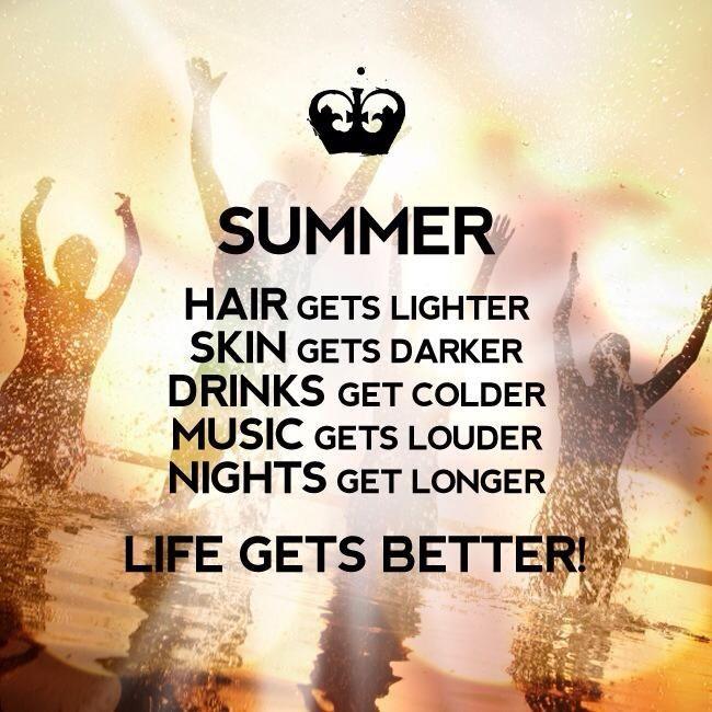 I just love summer!!!