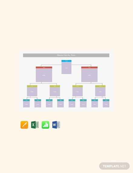 Instantly Download Free Blank Family Tree Template, Sample ...
