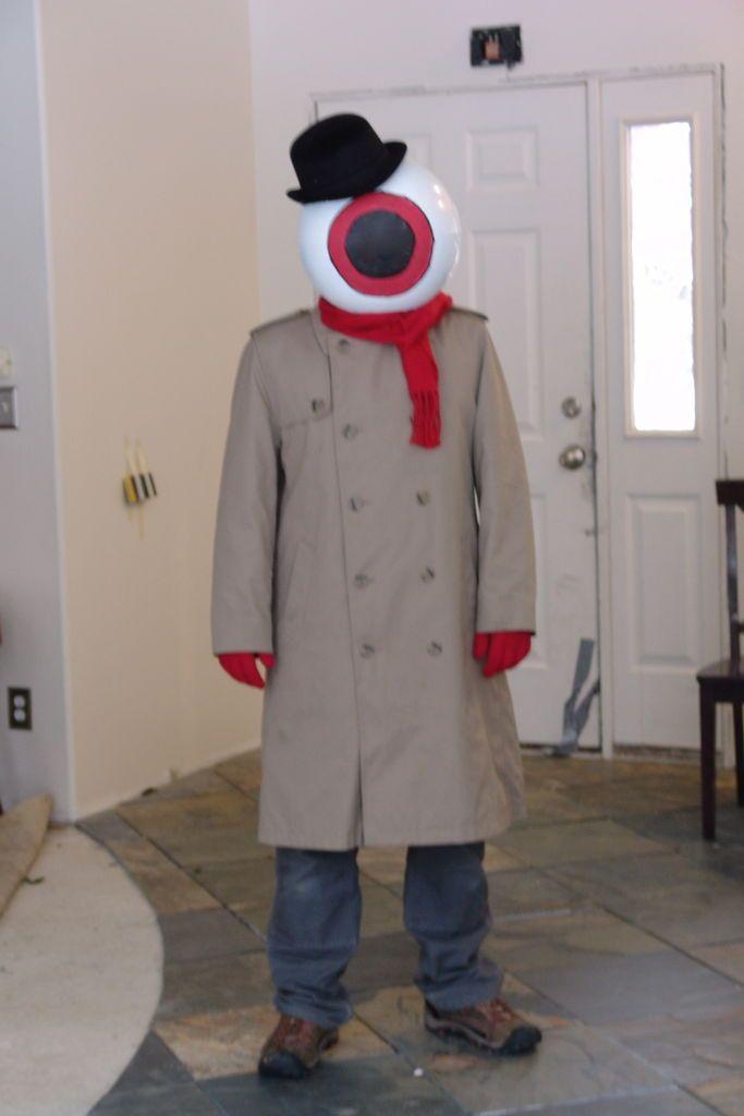 eyeball alien costume
