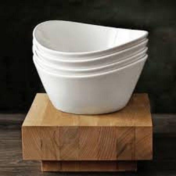 Over & Back 4-Piece \'Side Dish\' Porcelain Bowl Set, White | Products ...