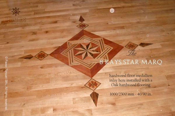 Hardwood Floor Inlays home improvements hardwood flooring decorative designs and borders 17 Best Images About The Hardwood Floor Medallion Inlays On Pinterest Oriental The Leaf