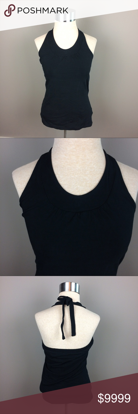Bamboo Traders black halter neck top Details coming soon Bamboo Traders Tops Tank Tops