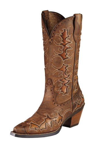Ariat Dandy Brown Cowgirl Boots 10007964, Lammle's Western
