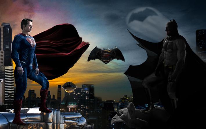Scarica Sfondi Supereroi 4k Batman Vs Superman Larte La