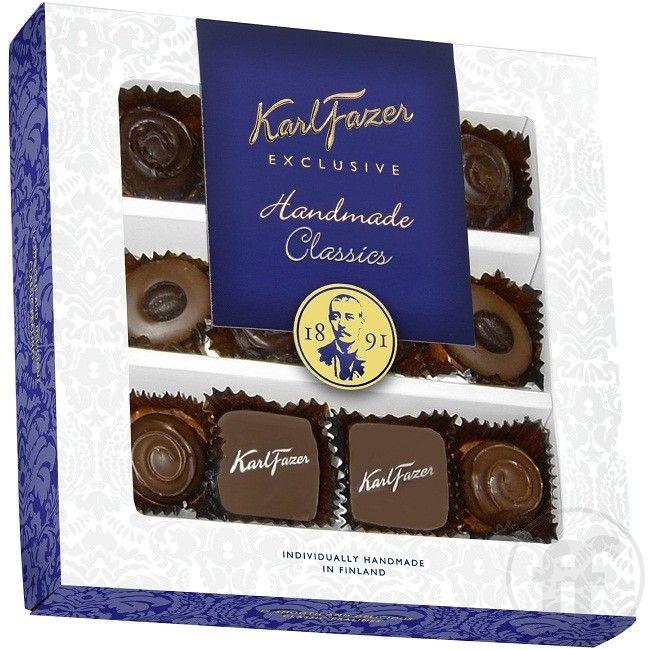 Karl Fazer Exclusive Handmade Classic-suklaarasia (165g)
