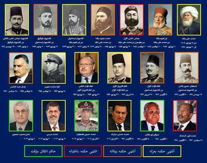 صور رؤساء مصر الذين حكموا مصر E553ba7c8c384f582496f877c036d492