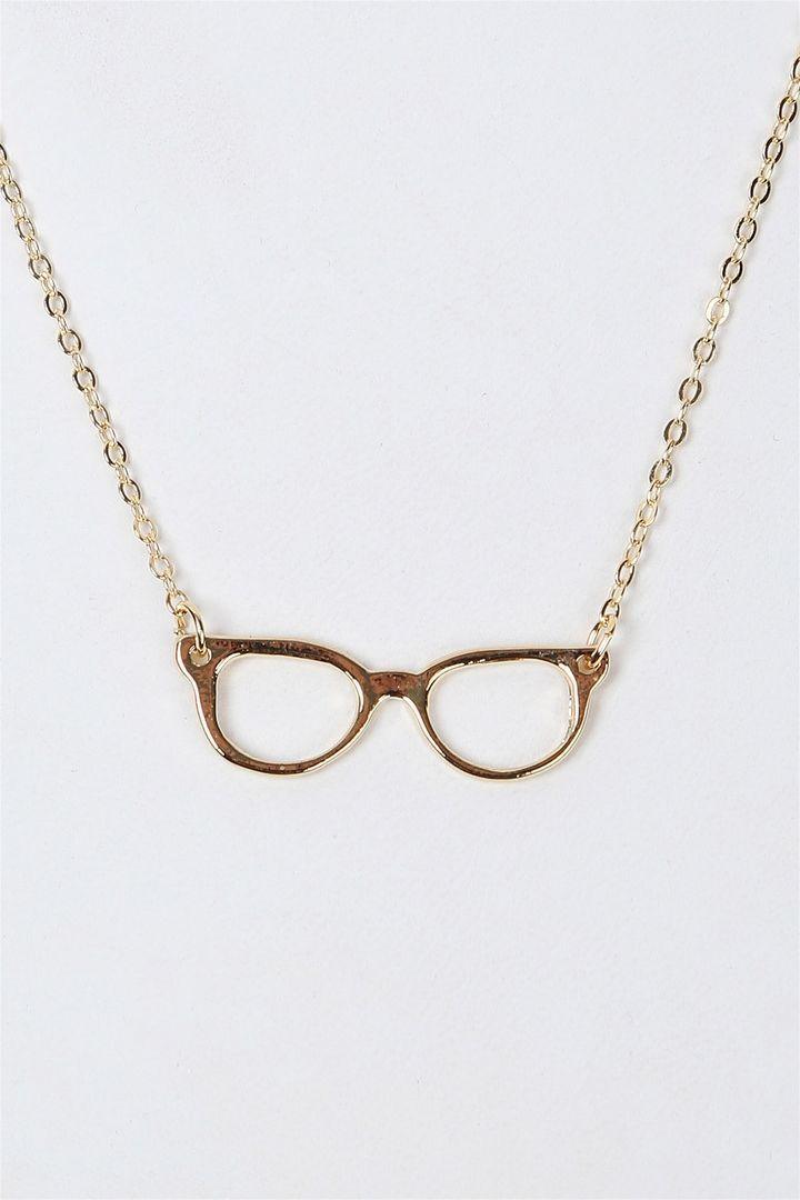 EyeGlasses Necklace.
