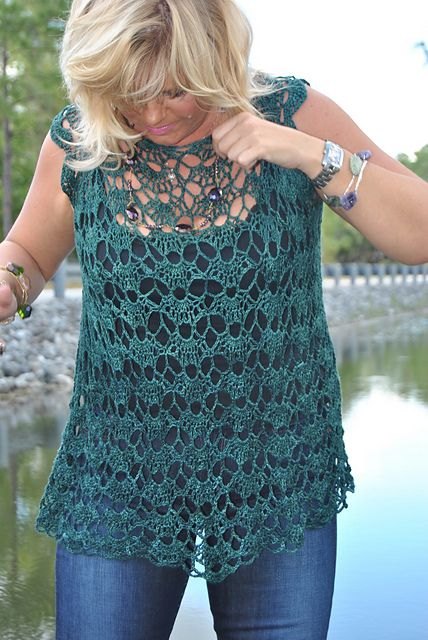 Free Crochet Patterns For Spring Tops : Sweet Clara Top: FREE crochet pattern Crochet LOVE ...