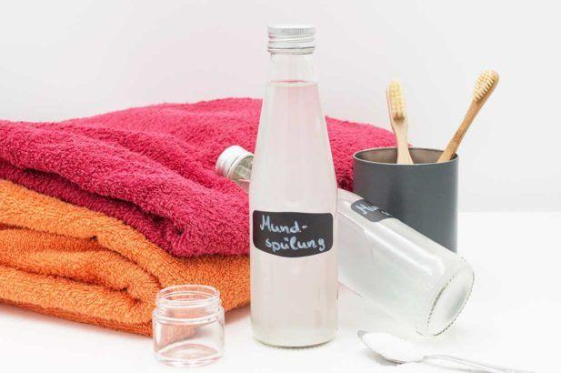 Hausmittel Mundspülung