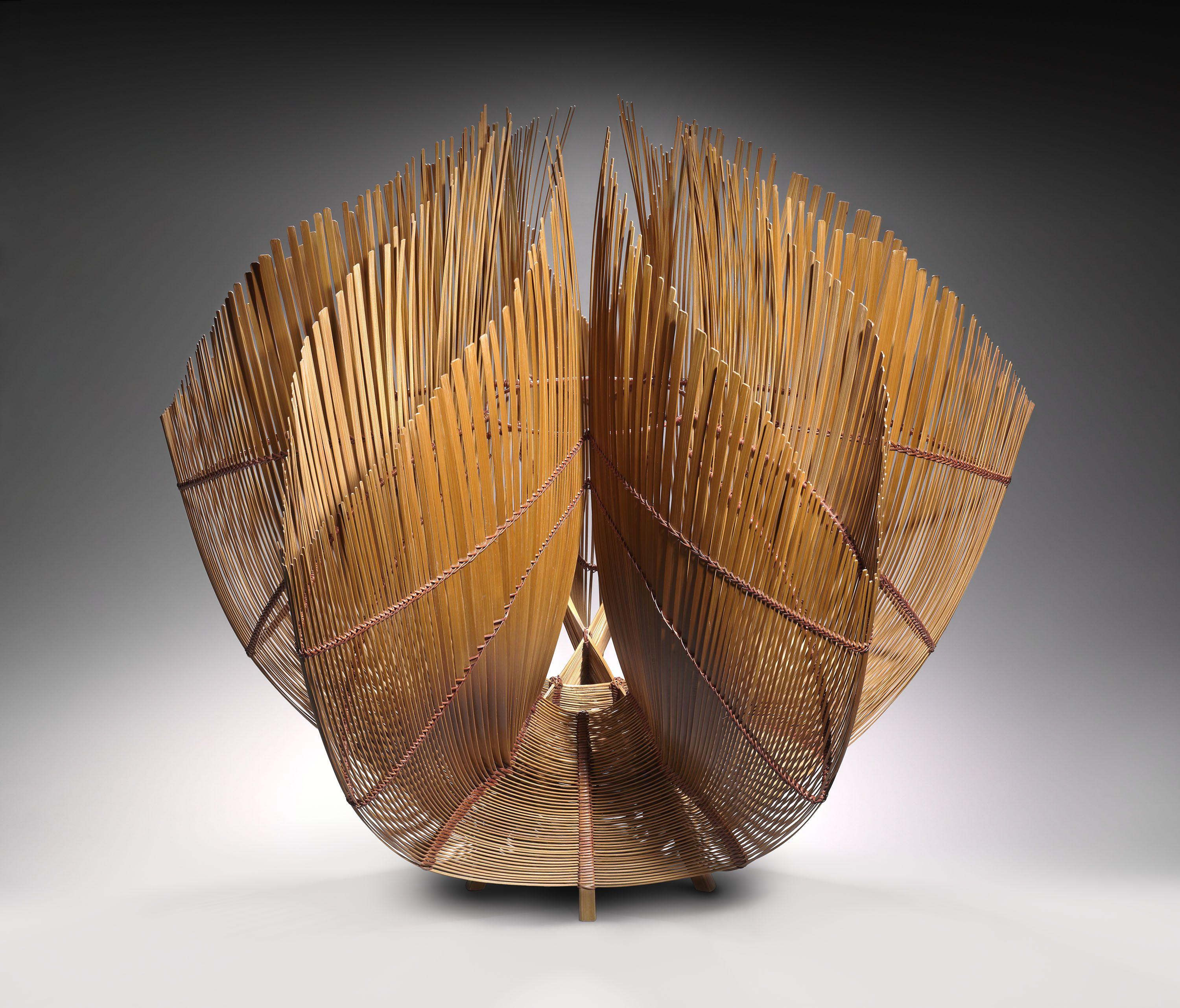 Fired Earth Woven Bamboo Contemporary Japanese Ceramics