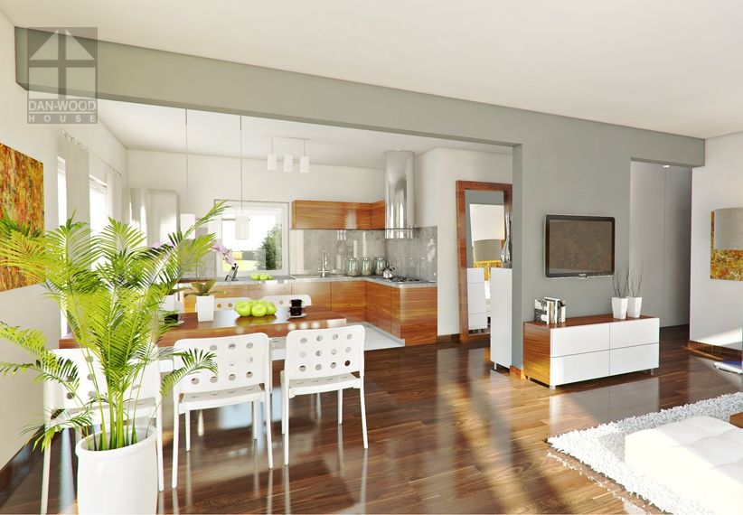 Perfect 98 - DAN-WOOD House schlüsselfertige Häuser HAUSBAU