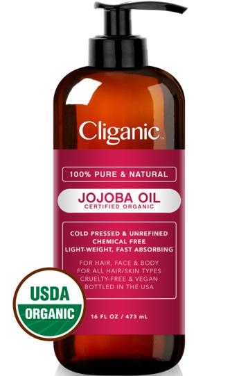 100% Pure Organic Jojoba Oil