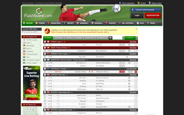 Flashscore Com How To Check Live Scores Results Football Livescore For Free Business News Reviews And Tech How Tos In 2020 League Table Upcoming Matches Football