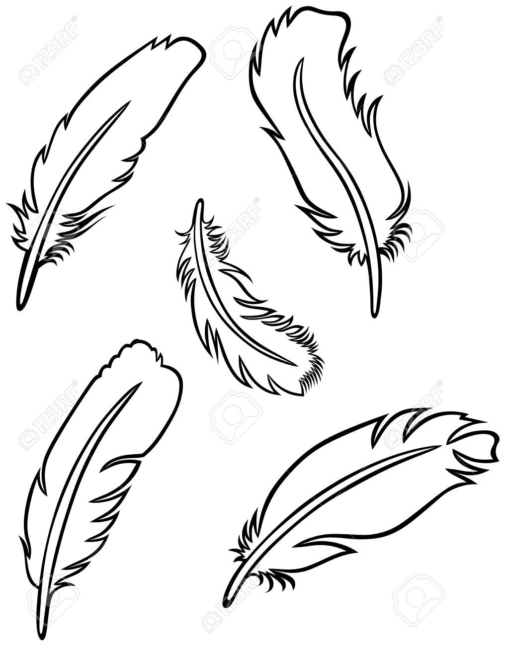 Easy Feather Drawings Google Search Bike Paint Jobs