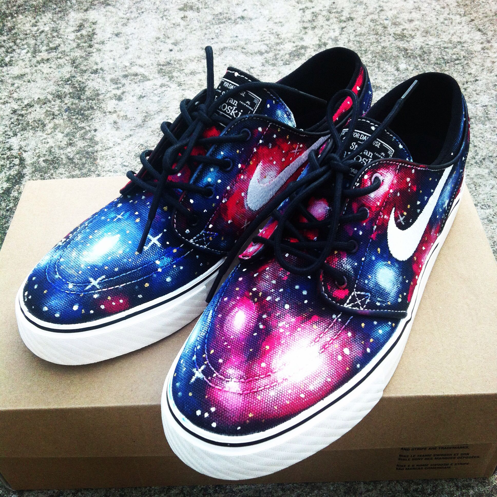Nike Janoski Galaxy Shoes