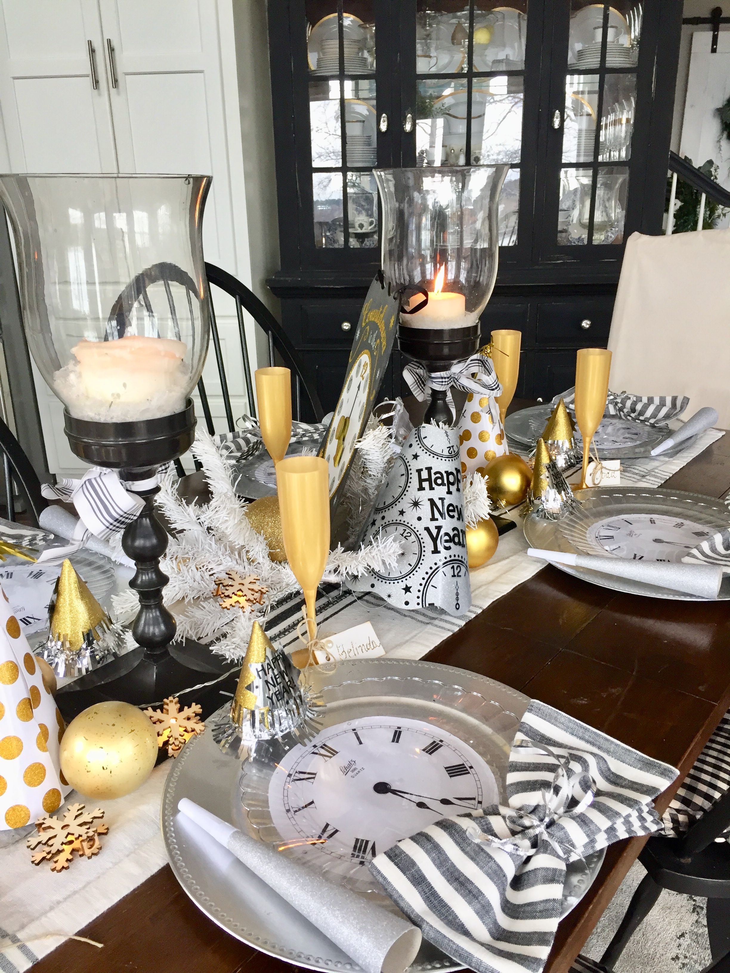Create A Festive New Years Eve Table   New year table ...