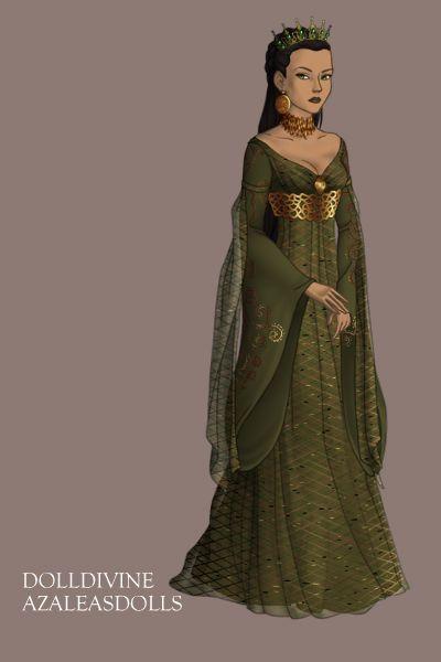 Elf Queen Lady Doll Divine Dress Up Games Azalea S