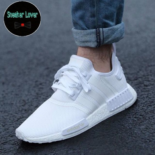 Sneaker Adidas Nmd R1 All White