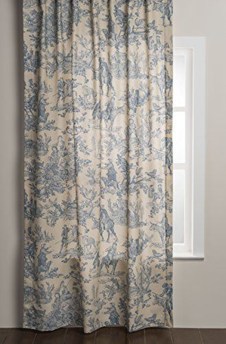 Maison D Hermine The Miller 100 Cotton Curtain 50 Inch By 108